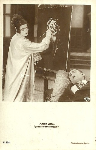 Maria Widal in Das sterbende Modell (1918)