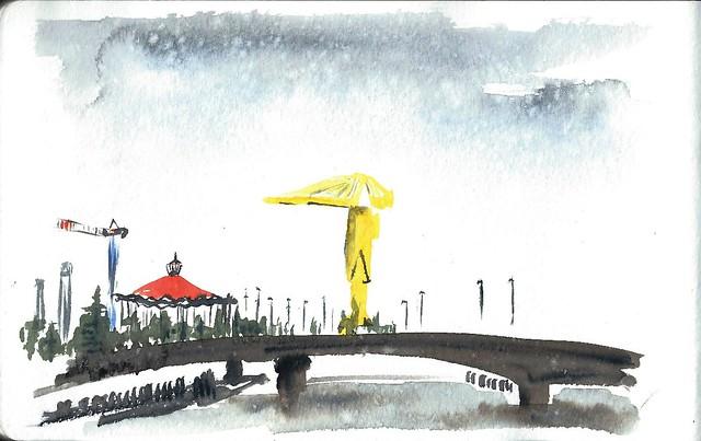 La grue jaune de Nantes
