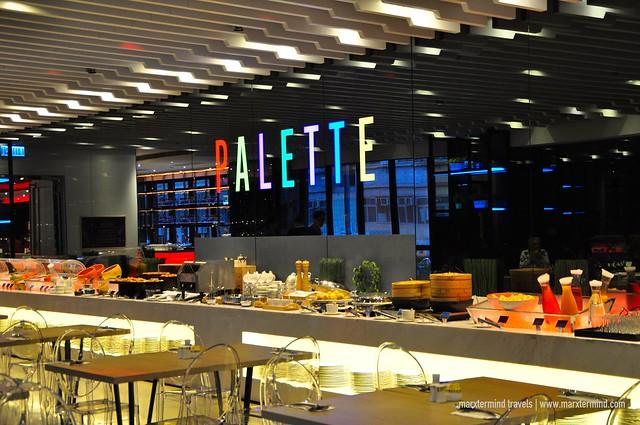 Palette Restaurant Hotel SAV Hong Kong