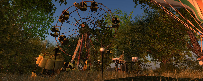 The forgotten fairground