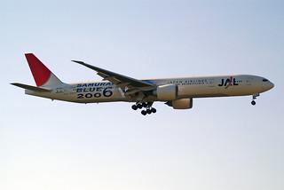 "Japan Airlines - JAL Boeing 777-346/ER JA732J ""Samurai Blue 2006"""