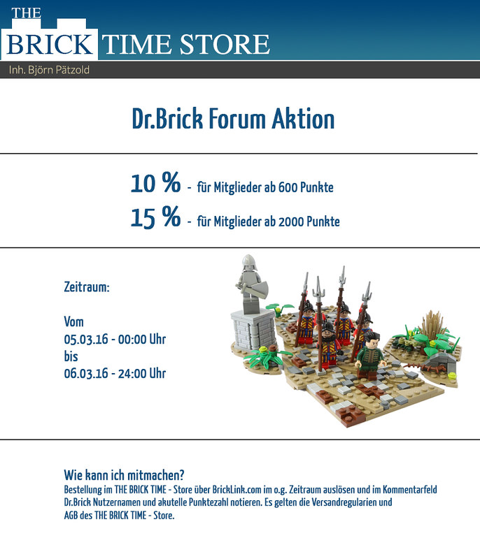 BrickLink Store Action March 16