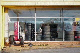 Tires in a Window