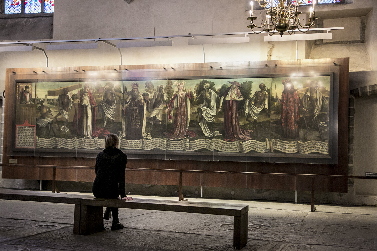 kuolemantanssi, danse macabre, niguliste kirik, nigulisten kirkkomuseo