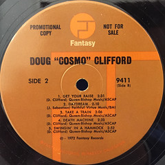 DOUG CLIFFORD:COSMO(LABEL SIDE-B)