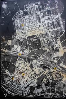 Foto aérea Auschwitz, 1944