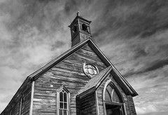 Abandoned Church at Bodie