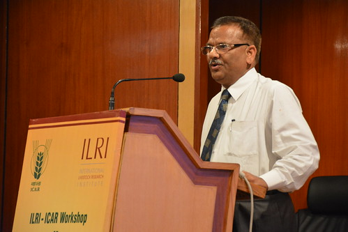 RK Singh, director of ICAR Indian Veterinary Research Institute