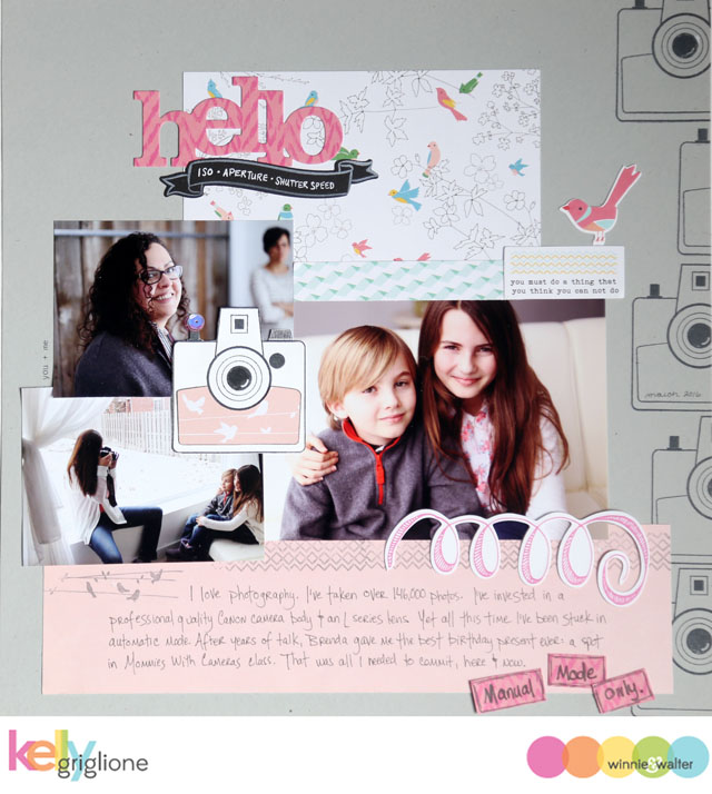 Kelly_Pinkfresh Studios Felicity Winnie Walter Photography  Scrapbook Layout_web