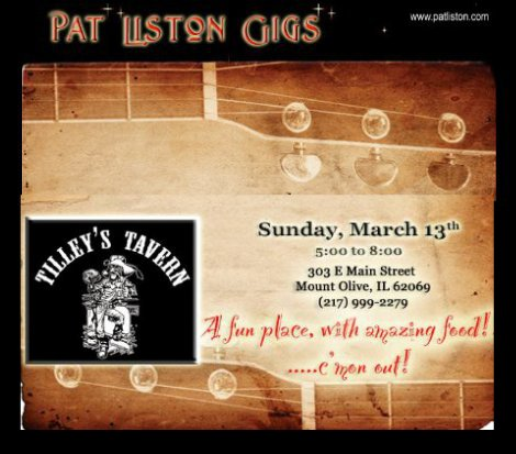 Pat Liston 3-13-16