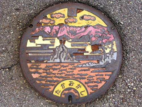 Takaoka Toyama, manhole cover 3 (富山県高岡市のマンホール3)