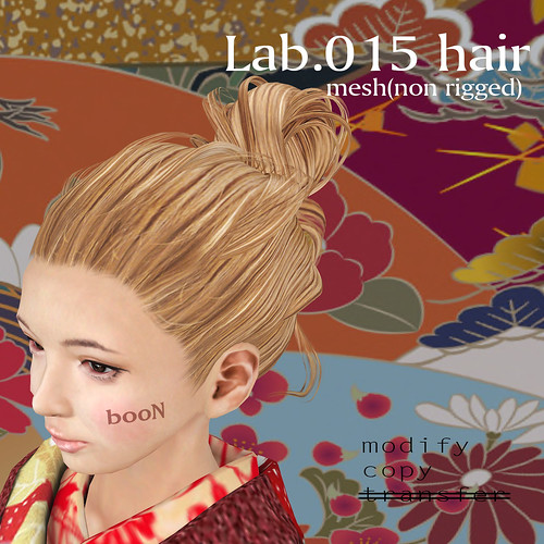 booN Lab.015 hair