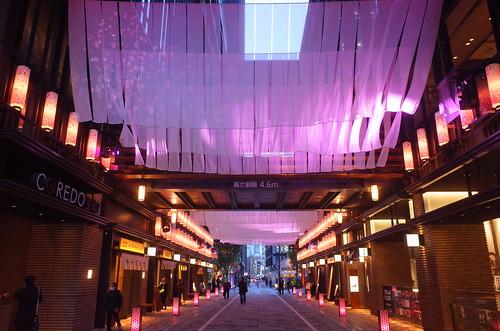 artificial sakura imaging street 日本桜風街道 03