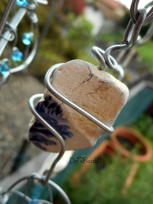 mobìle farfalle, vetro e ceramica 9