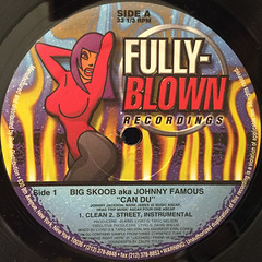 BIG SCOOB:CAN DU(LABEL SIDE-A)