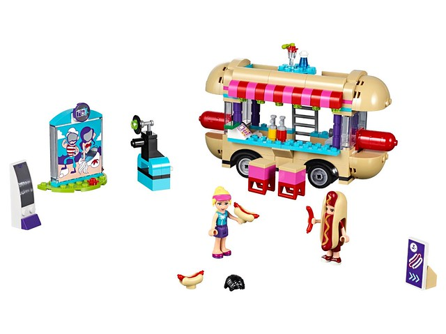 LEGO Friends 41129 - Amusement Park Hot Dog Stand