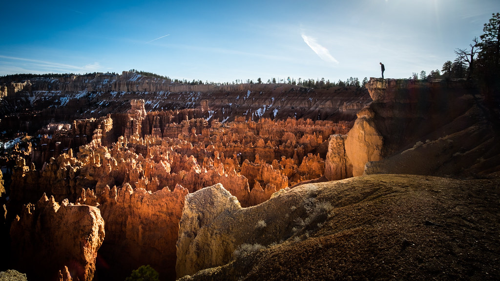 On the edge, Bryce Canyon, United States picture