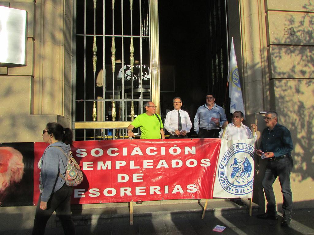 Gremios del FTH presentes en Gran Marcha por Paro Nacional CUT / ANEF !!! POR UN CHILE MEJOR - 22 Marzo 2016