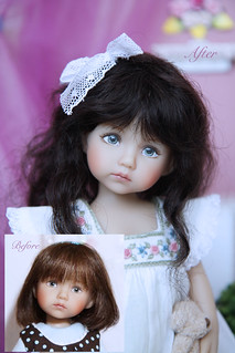 Claire OOAK doll from Boneka