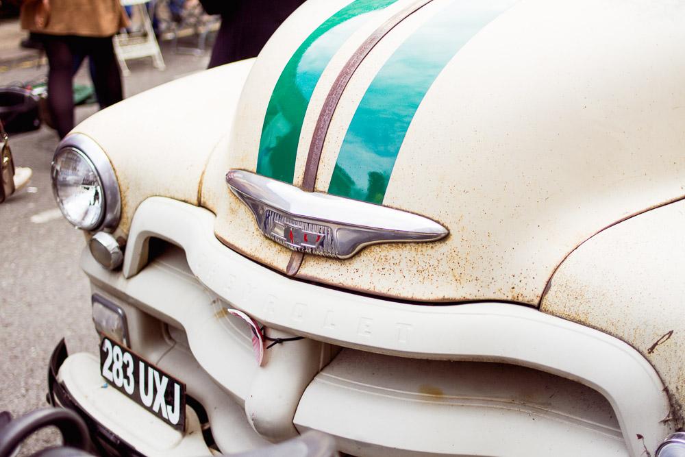 old fashioned car bumper