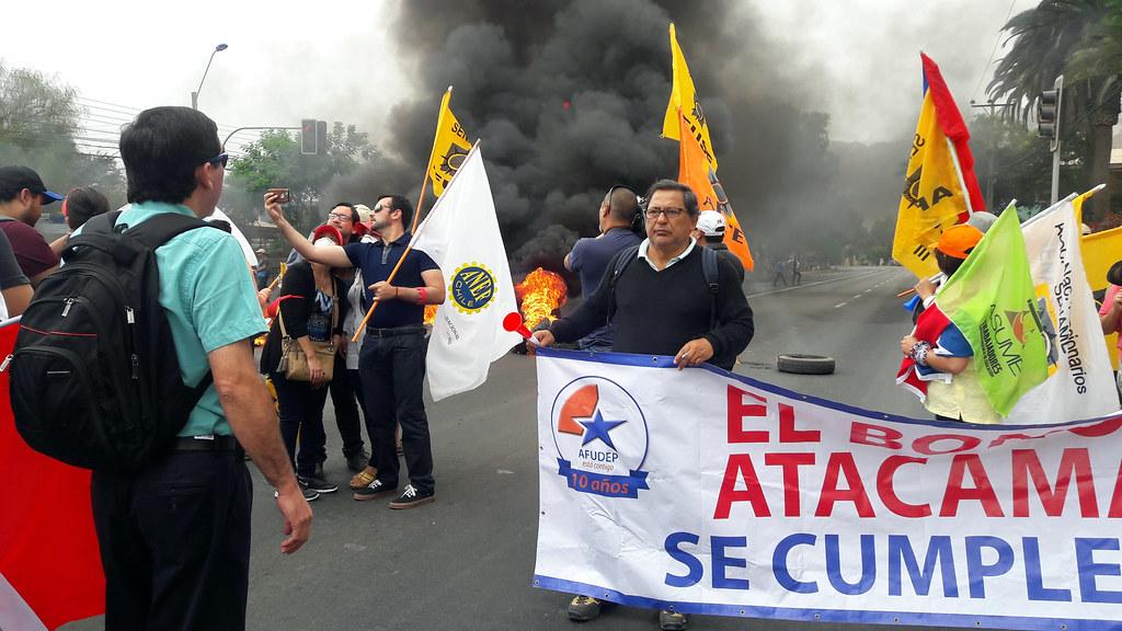 A 30 días del Paro Atacama, aún no existe acuerdo entre sector público y el Gobierno - 30 Marzo 2016
