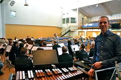 David Glänneskog dirigerar Cory under överinseende