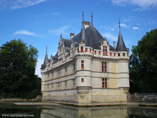 Azay-Le-Rideau, Castelli della Loira