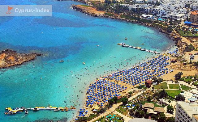 Пляж Фиг Три Бей Кипр
