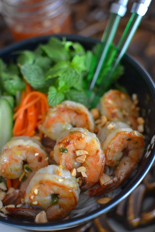 Grilled Lemongrass Shrimp