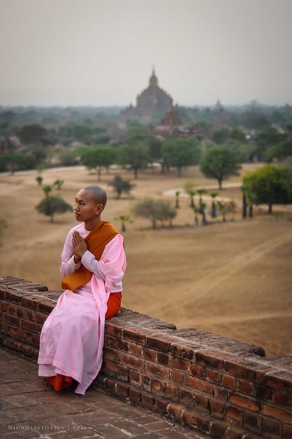 Bagan Sunset - Nun