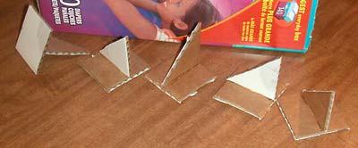 How to: No Sew Fleece Cube / Box Shelf 26208457482_f140f214cb