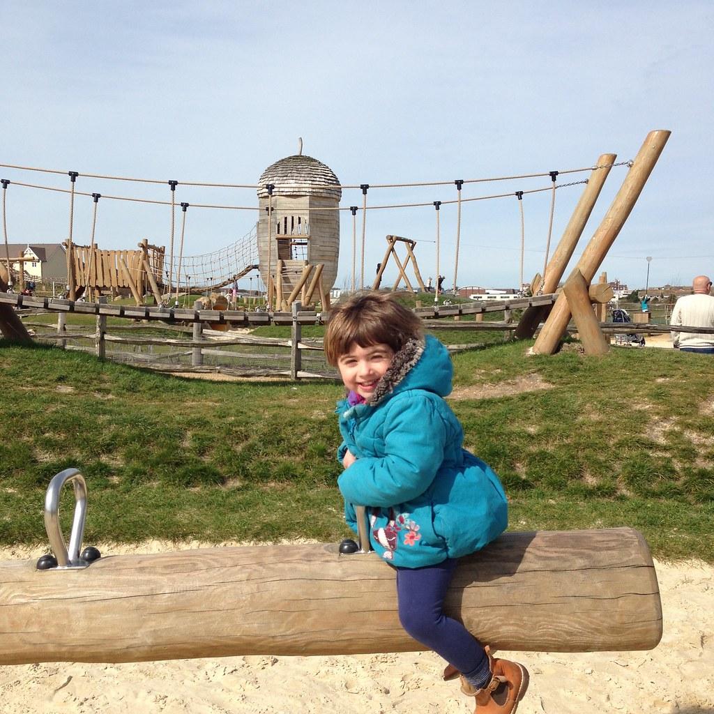 sunday fun in peacehaven big park