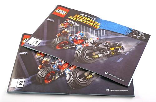 LEGO Marvel Super Heroes 76053 Gotham City Cycle Chase 02