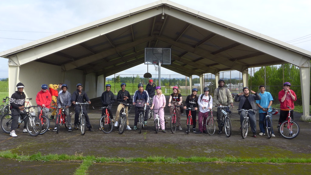 Helensview HS Final Bike Ride