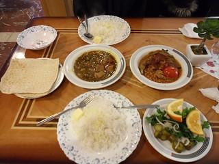 Huge feed at a decent price at Tabriz Modern Restaurant