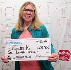 Kathleen Poe - $100,000 Midnight Money