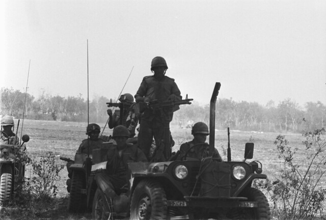 Hậu Nghĩa 1966 - Operation Crimp, 3rd Brigade, 1st Infantry Division. Location, Iron Triangle, Cu Chi District,