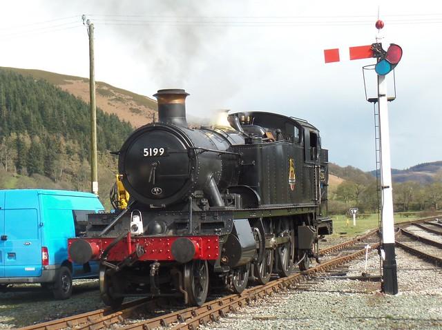 Ex GWR Prairie No 5199.