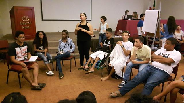 Encontro Nacional de Redes de Adolescentes e Jovens - 26/04/2016