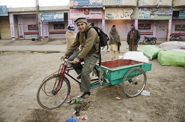 Cycle Rickshah of Dera Ismail Khan