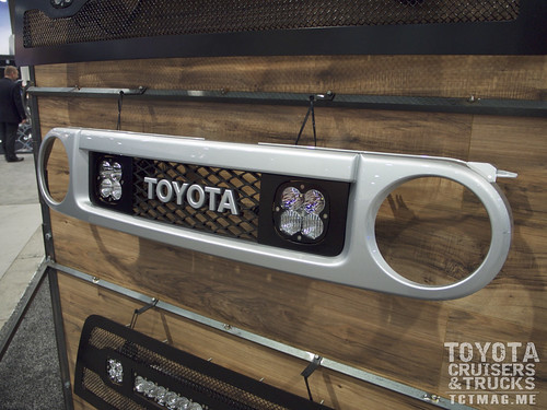 Baja Designs is now offering custom grill solutions to mount its various LED lights.
