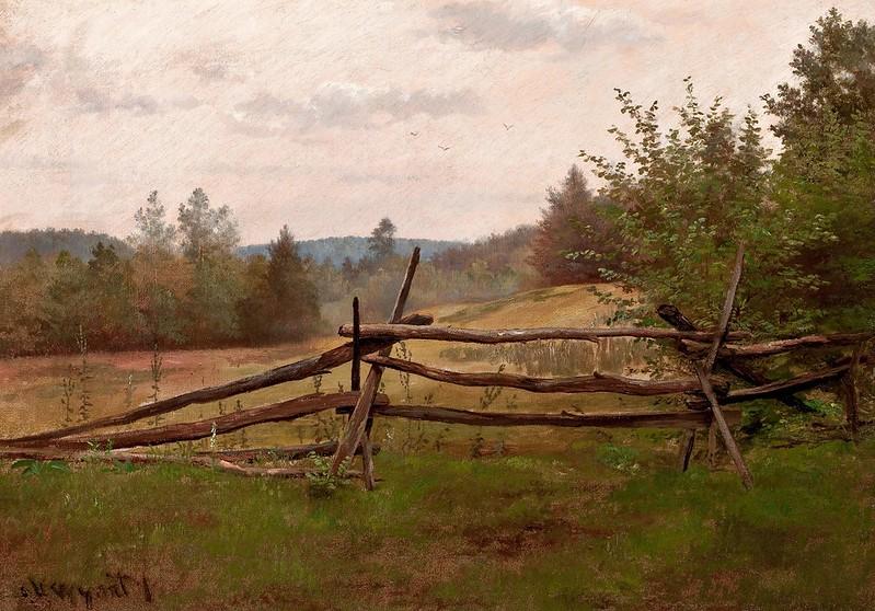 Alexander Helwig Wyant - Split Rail Fence