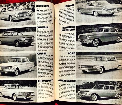 Mecánica Popular 1961 - Autos nuevos 1961