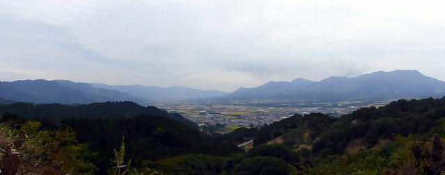 Looking back towards Kumamoto