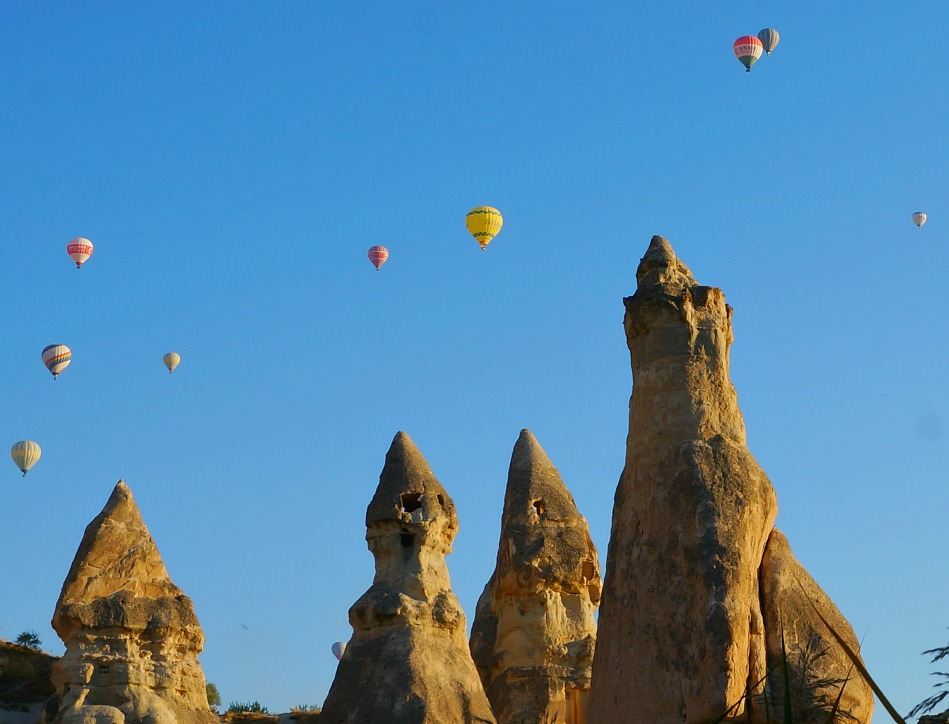 Hot Air Balloons Decorating the Sky