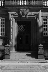 """Porte du """"Borgen"""" (palais de Christianborg), Copenhague"""