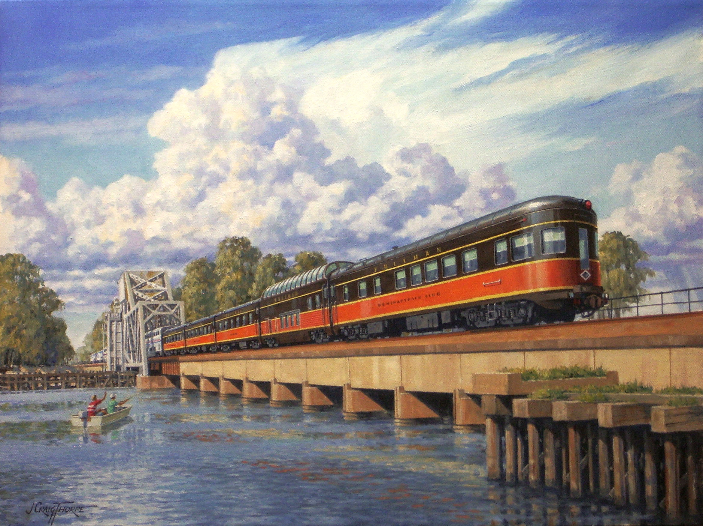 City of New Orleans, by J. Craig Thorpe