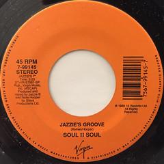 SOUL II SOUL:JAZZIE'S GROOVE(LABEL SIDE-A)