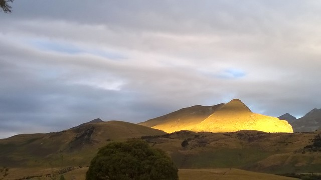 Sunset over Glenorchy
