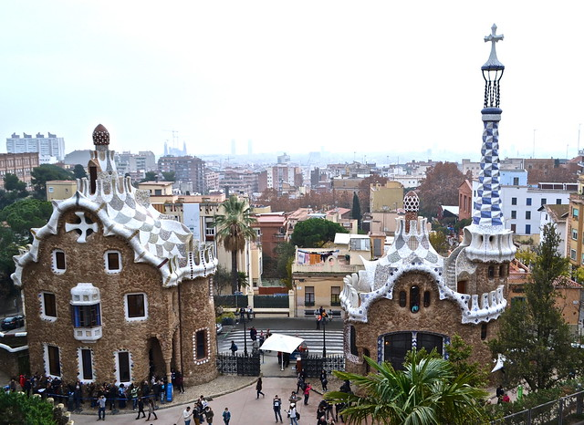 Parque Guell, Barcelona Spain